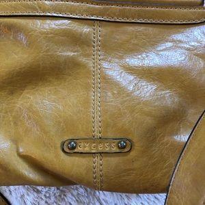 Axcess Bags - Axcess mustard yellow handbag